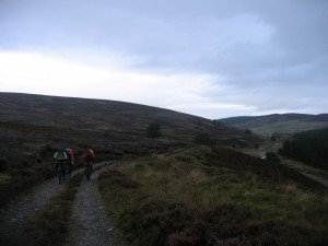 Climbing to Tomintoul