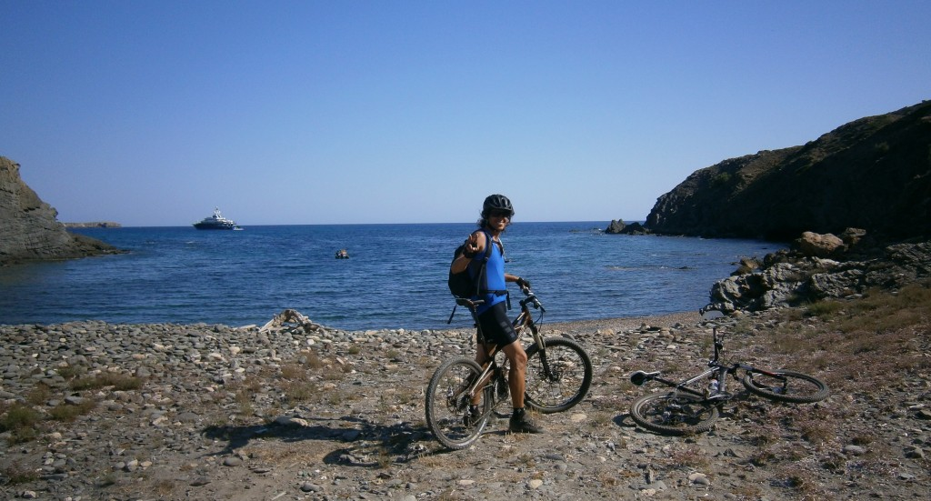 Didac - my guide for the best trails and sweetest beaches.