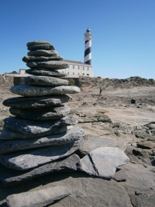 The lighthouse at Favaritx