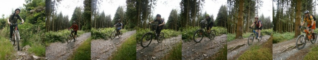 Hitting the Builth Descent in the Dyfi Forest