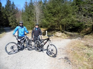 Kenny & Paul at start of Brutus