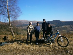 Spring is sprung. Up on the tops at Coed y Brenin!