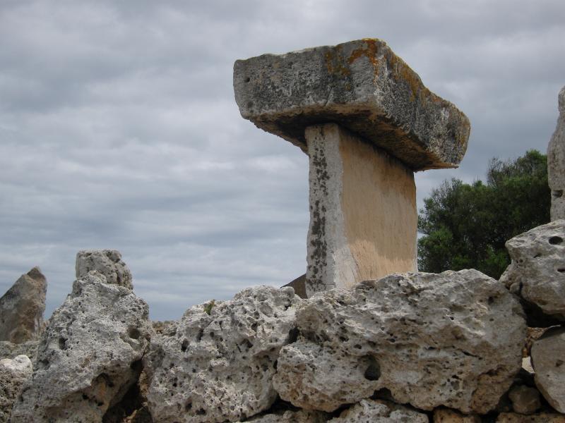 La Taula de Trepucó - a bit of prehistory on the ride.