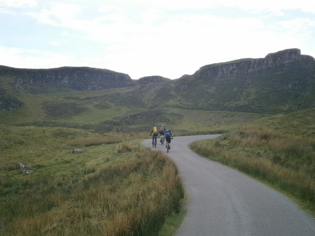 The Quiraing. Uphill relief.