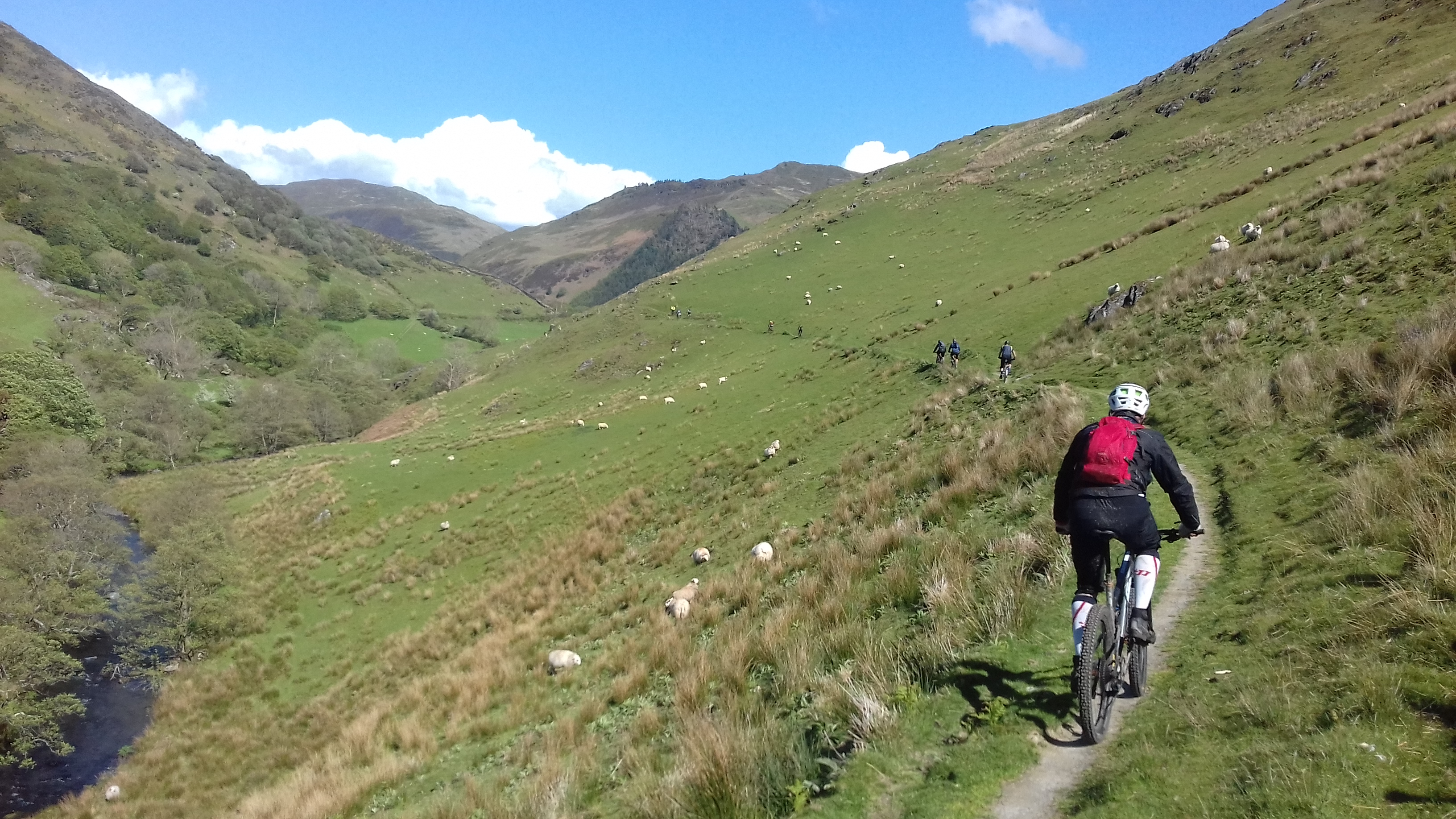 Guided Riding in Southern Snowdonia - Y Gamallt