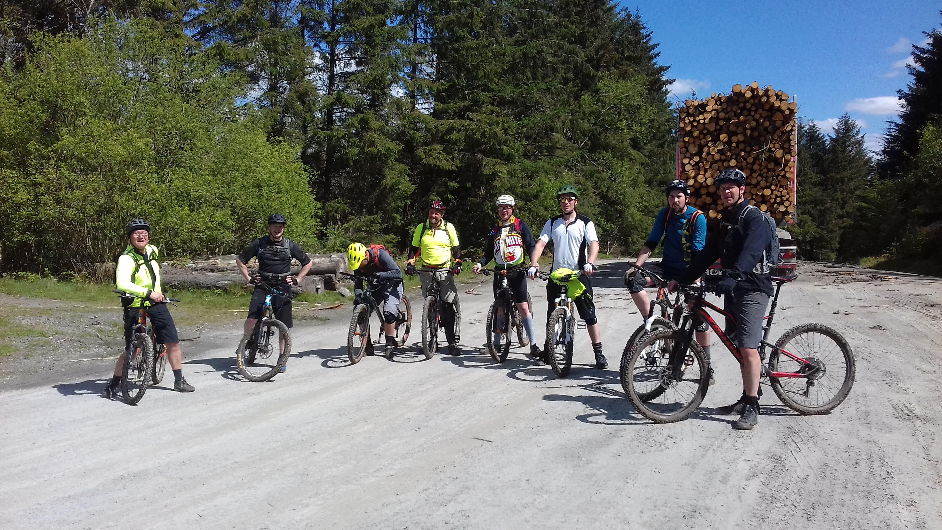 Guided Riding in Southern Snowdonia - Dyfi Forest